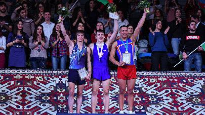 Азербайджанский тамблингист Михаил Малкин завоевал серебряную медаль Кубка мира