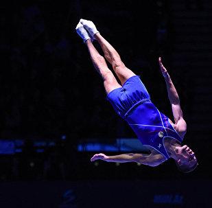 Azərbaycan gimnastı İlya Qrişunin