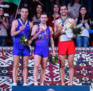 Итоги Кубка мира по прыжкам на батуте и тамблингу в Баку