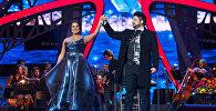 Оперный певец Юсиф Эйвазов и оперная певица Анна Нетребко, фото из архива