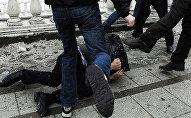 Избиение, фото из архива