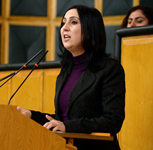 Xalqların Demokratik partiyasının (HDP) həmsədri Figən Yüksəkdağ