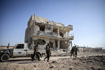 Əl-Bab şəhərinin İŞİD-dən azad edilmiş hissəsi