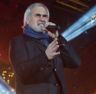 Певец Валерий Меладзе на концерте, архивное фото