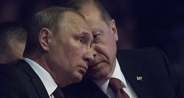 Президент РФ Владимир Путин и президент Турции Реджеп Тайип Эрдоган (справа) , фото из архива
