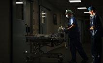 Реанимация в кардио-хирургическом отделении лечебно-реабилитационного комплекса, фото из архива