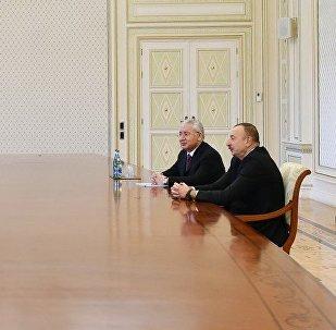 Президент Ильхам Алиев принял делегацию во главе с министром продовольствия, сельского хозяйства и животноводства Турции