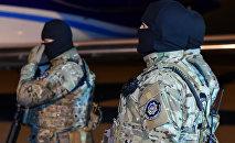 Сотрудники  Службы государственной безопасности Азербайджана, фото из архива