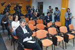 Журналисты в Международном мультимедийном пресс-центре Sputnik Азербайджан, архивное фото