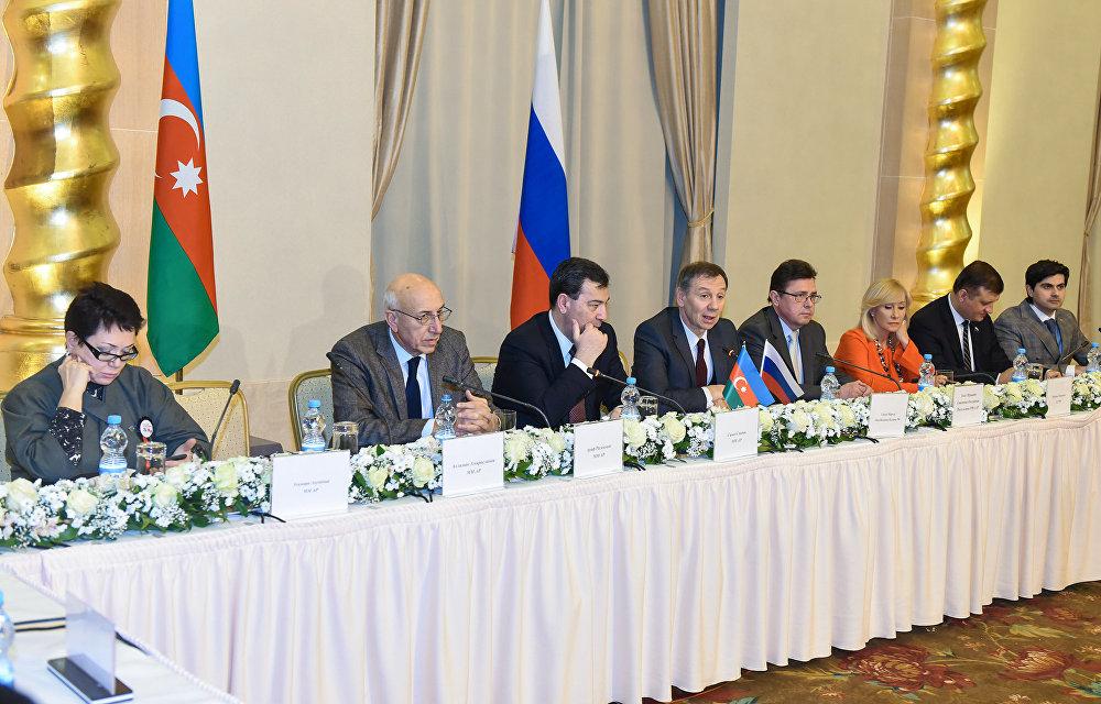 Развитие сотрудничества Азербайджана и Российской Федерации обсудили вАзербайджанской столице