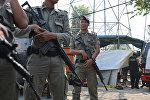 İndoneziya polisi, arxiv şəkli
