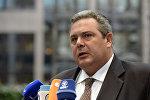 Yunanıstanın müdafiə naziri Panos Kammenos