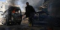 Suriyada döyüşlər, arxiv şəkli