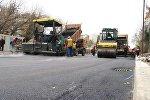 Bakıda yol təmiri, arxiv şəkli