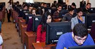 Экзамены в одном из бакинских вузов, фото из архива