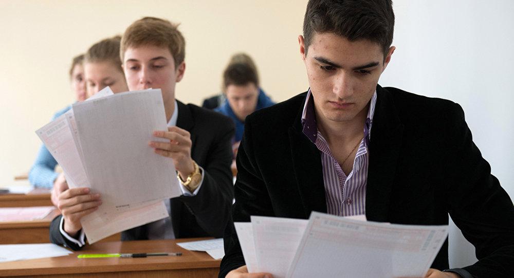Вступительные экзамены, фото из архива