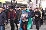 Военнослужащий Закир Джафаров, погибший несколько дней назад при предотвращении провокации армянских вооруженных сил, сегодня был похоронен в Баку