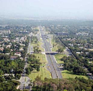 Вид на город Исламабад, фото из архива