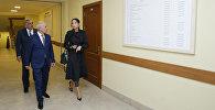 Мехрибан Алиева ознакомилась с условиями, созданными в Республиканской специальной школе-интернате номер шесть имени Эльмара Мирзоева