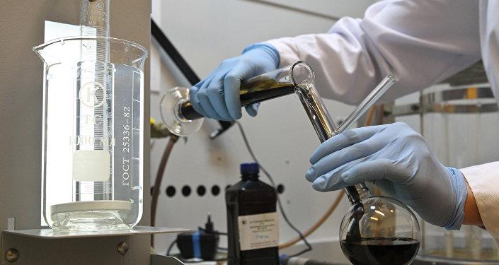 Химико-аналитическая лаборатория, архивное фото