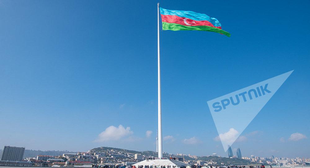 Площадь Государственного флага в Баку
