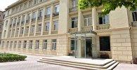 Здание министерства образования Азербайджана, архивное фото