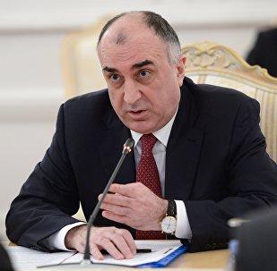 Министр иностранных дел Азербайджана Эльмар Мамедъяров, фото из архива