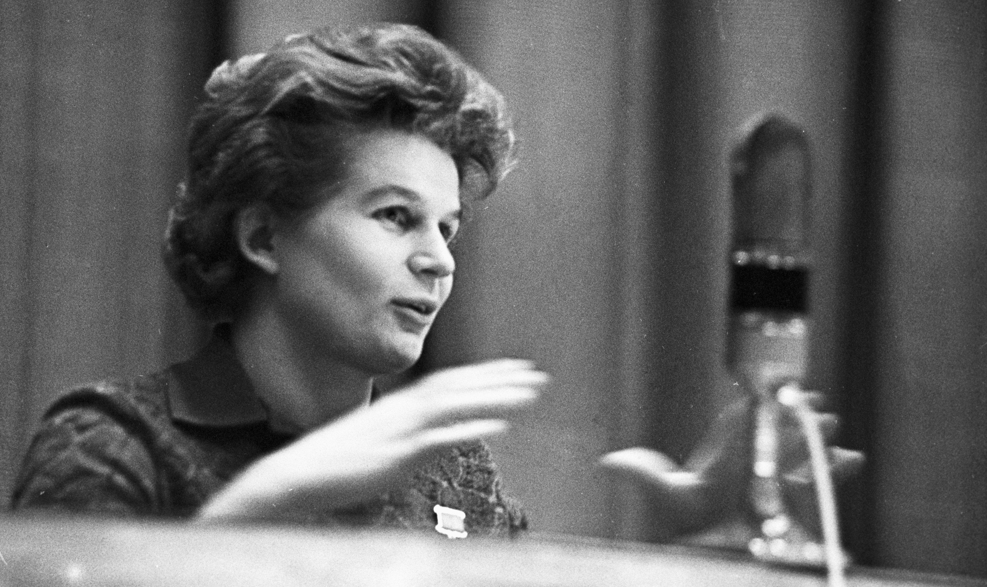 Валентина Терешкова, первая в мире женщина-космонавт, Герой Советского Союза