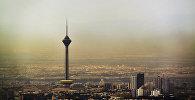 Вид на Тегеран, фото из архива