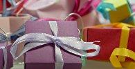 Подарочные коробки, фото из архива