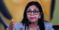 Venesuelanın xarici işlər naziri Delsi Rodriges