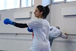 Чемпионка Европы Нурана Алиева