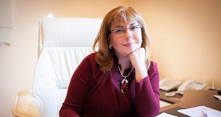 Директор Института по правам человека Айтен Мустафаева