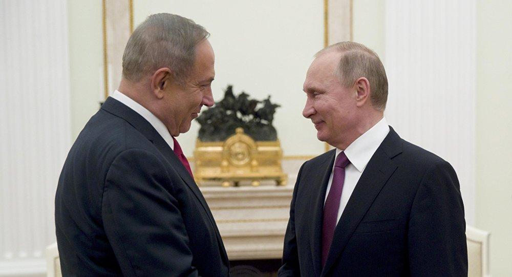 Benjamin Netanyahu və Vladimir Putin