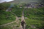 Армянский военнослужащий в Нагорном Карабахе, архивное фото