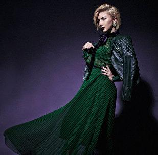 Популярная исполнительница, представительница Азербайджана на международном музыкальном конкурсе Евровидение-2017 Диана Гаджиева