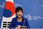 Экс-президент Южной Кореи Пак Кын Хе, фото из архива