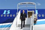 Президент Азербайджана Ильхам Алиев прибыл с официальным визитом во Францию
