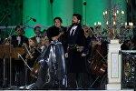 Оперная певица Анна Нетребко (сопрано) и солист Большого театра России Юсиф Эйвазов (тенор), фото из архива
