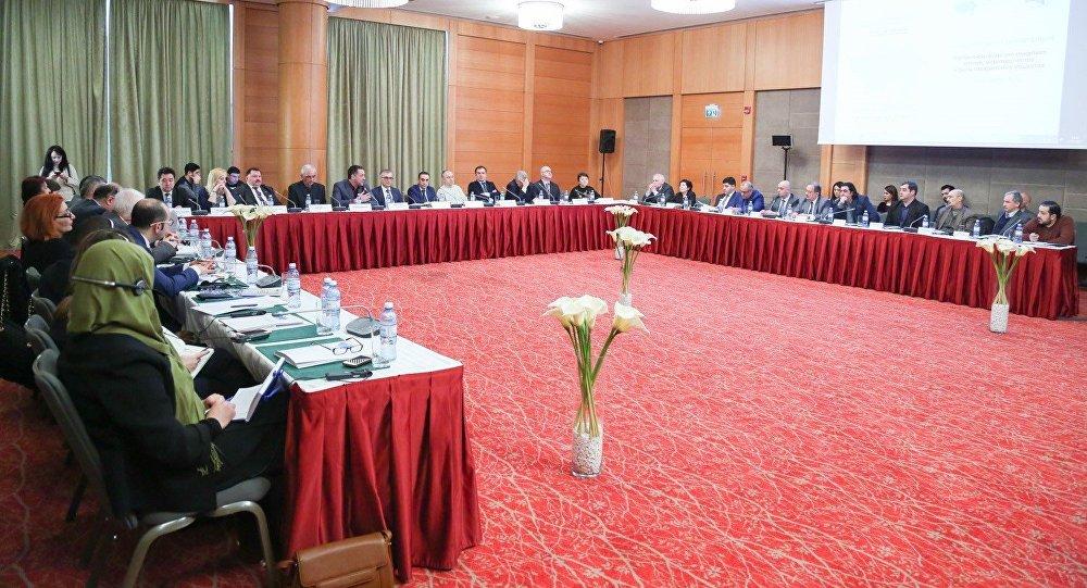 Международная научно-практическая конференция Нагорно-Карабахский конфликт: истоки, миротворчество и роль гражданского общества