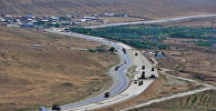 Автомагистраль Баку-Шамахы, фото из архива
