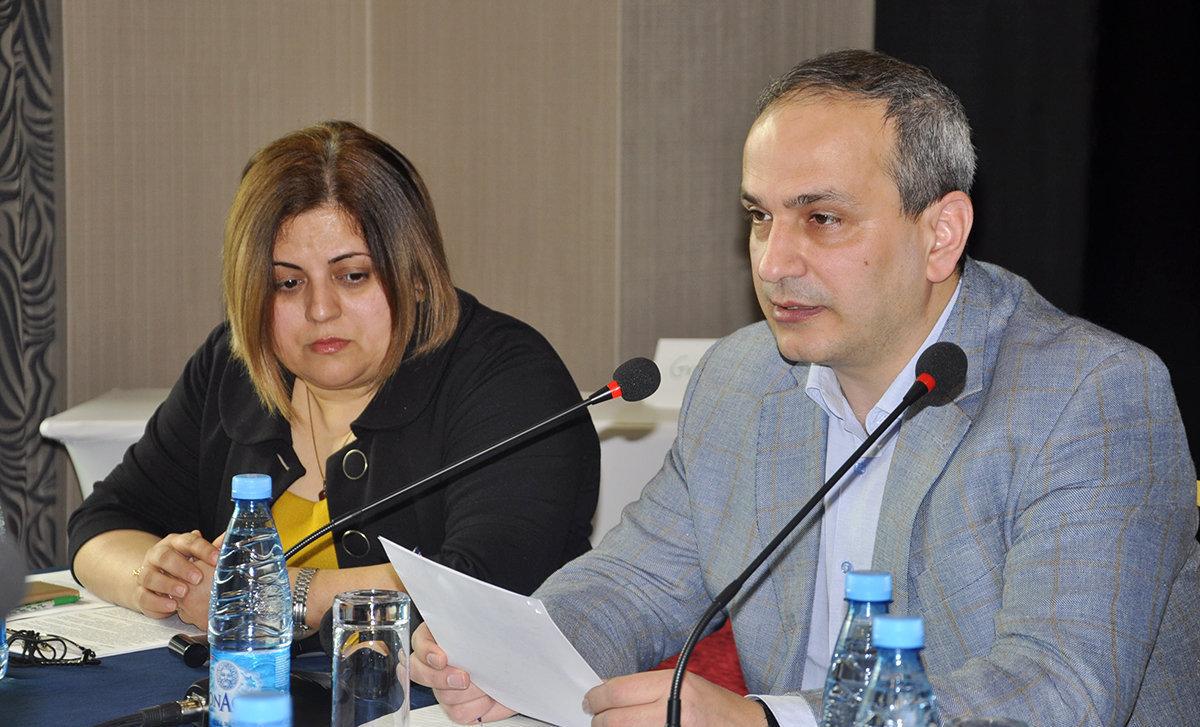 Гюльнара Исмайлова и Самир Алиев