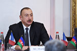 Ильхам Алиев встретился с членами бизнес-совета Движения предприятий Франции