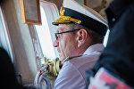 Начальник Управления боевой подготовки ВМФ РФ контр-адмирал Виктор Кочемазов