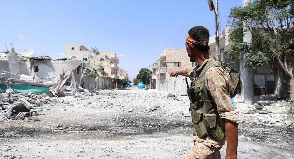 Suriyada bombardıman