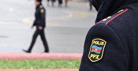 Полицейский в Баку, фото из архива