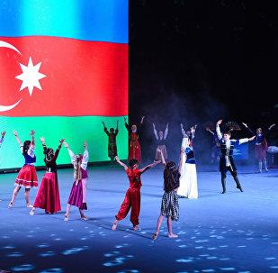 Открытие Кубка мира по спортивной гимнастике серии FIG в Баку