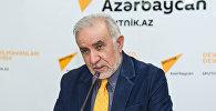 Председатель Общества свободных потребителей Азербайджана Эйюб Гусейнов