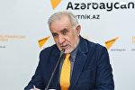 Председатель Союза свободных потребителей Азербайджана Эйюб Гусейнов