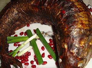 Лявянги по-лянкярански: запеченная рыба с начинкой к Новруз байрамы